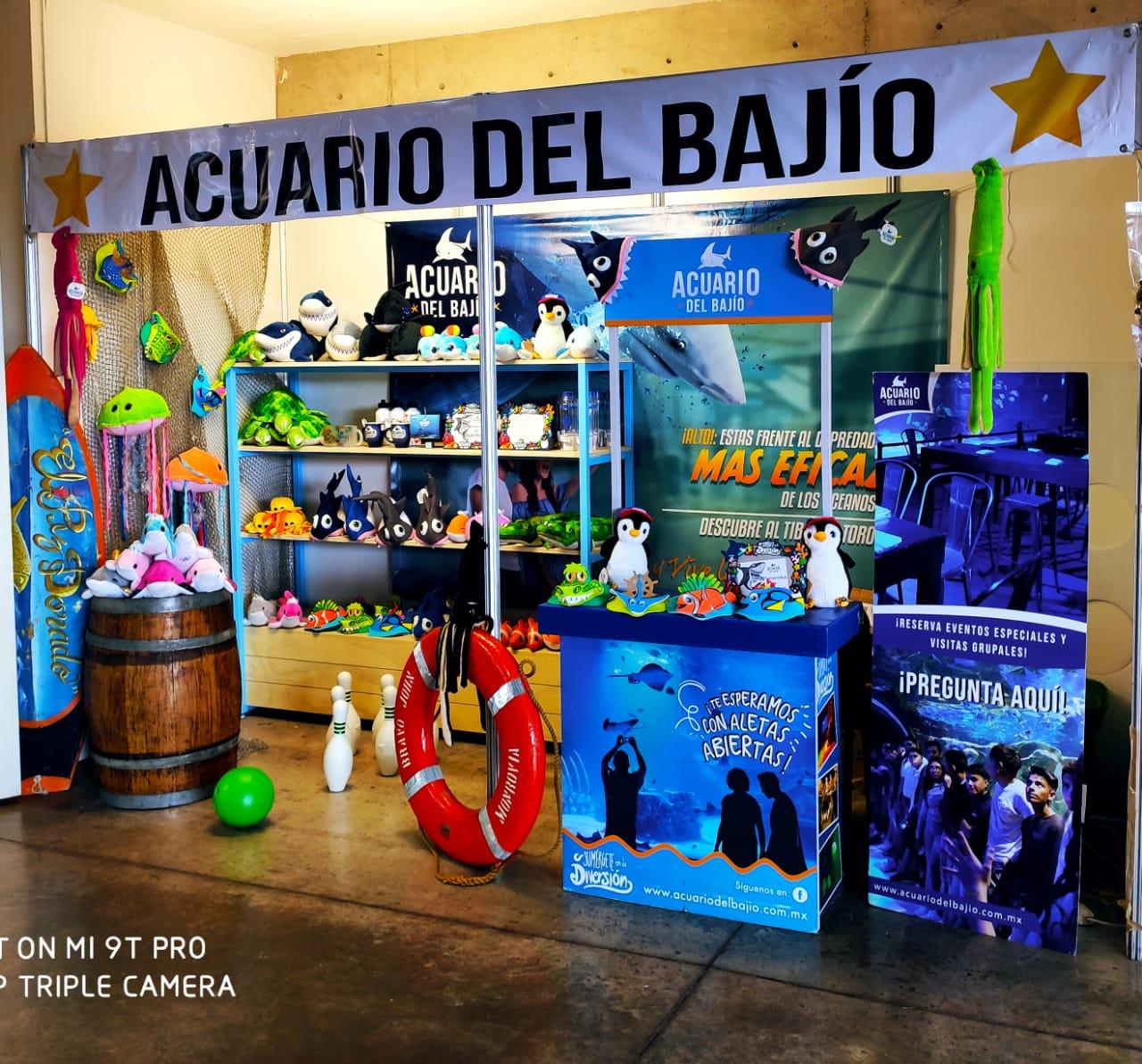 Acuario del Bajío Presente En Una De Las Ferias Más Grandes De México
