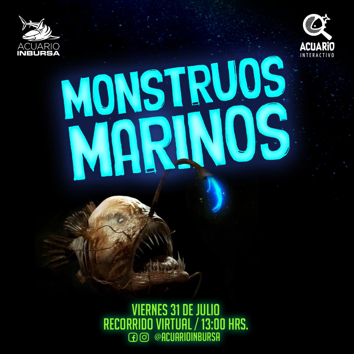 ¡Los Montruos Marinos te Esperan este Viernes!