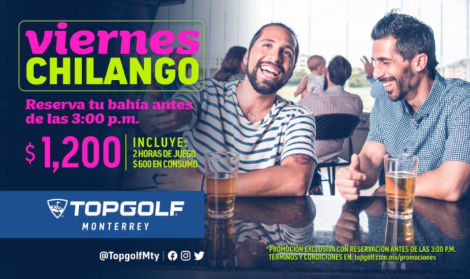 Es Viernes Chilango y en Topgolf lo Sabemos